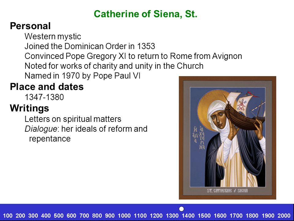Theresa of Avila, St.