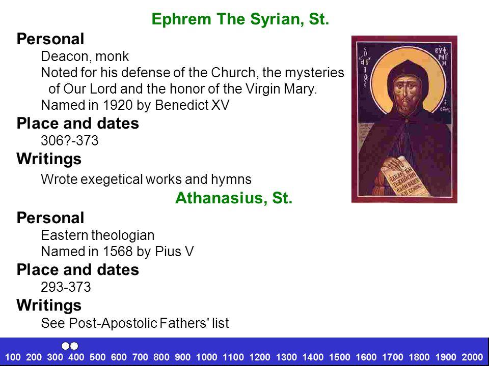 Cyril of Jerusalem, St.