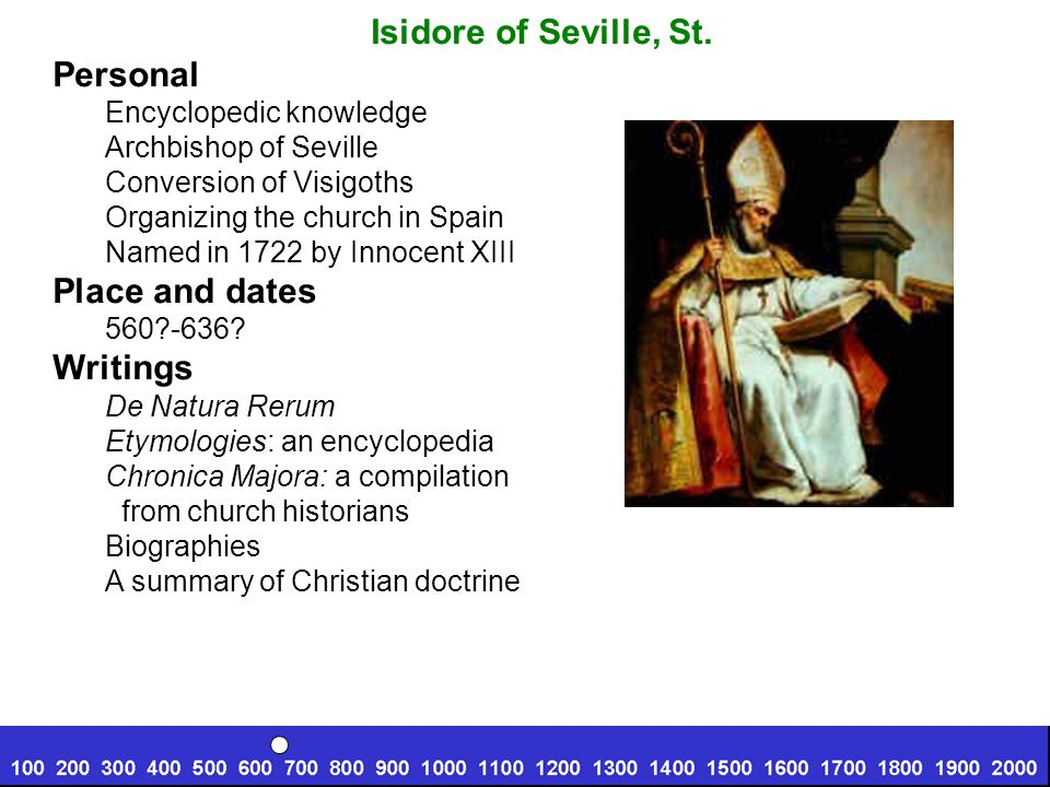 Isidore of Seville, St.