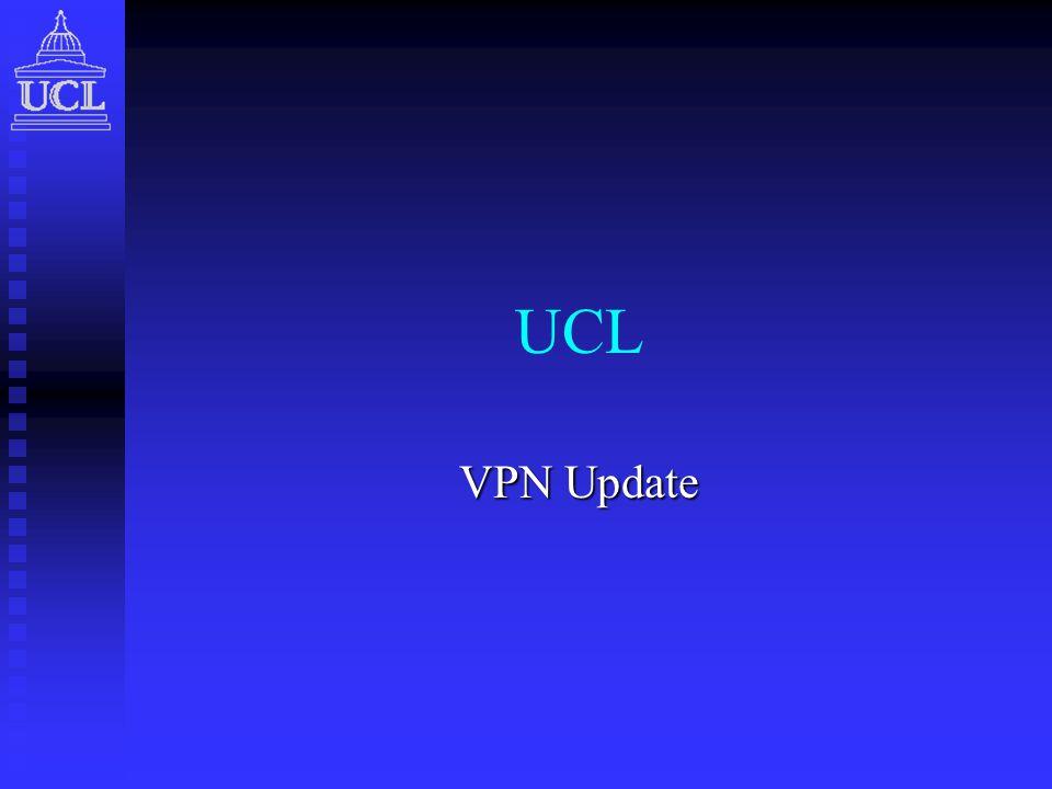 UCL VPN Update