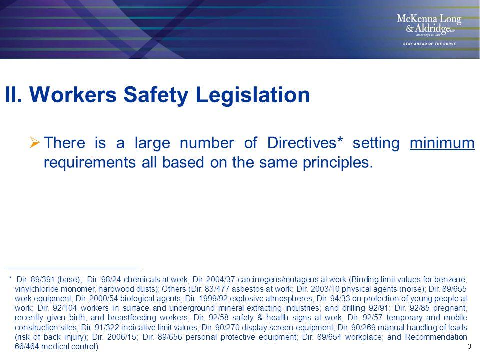 14 Safety Data Sheets under REACH (current Dir.