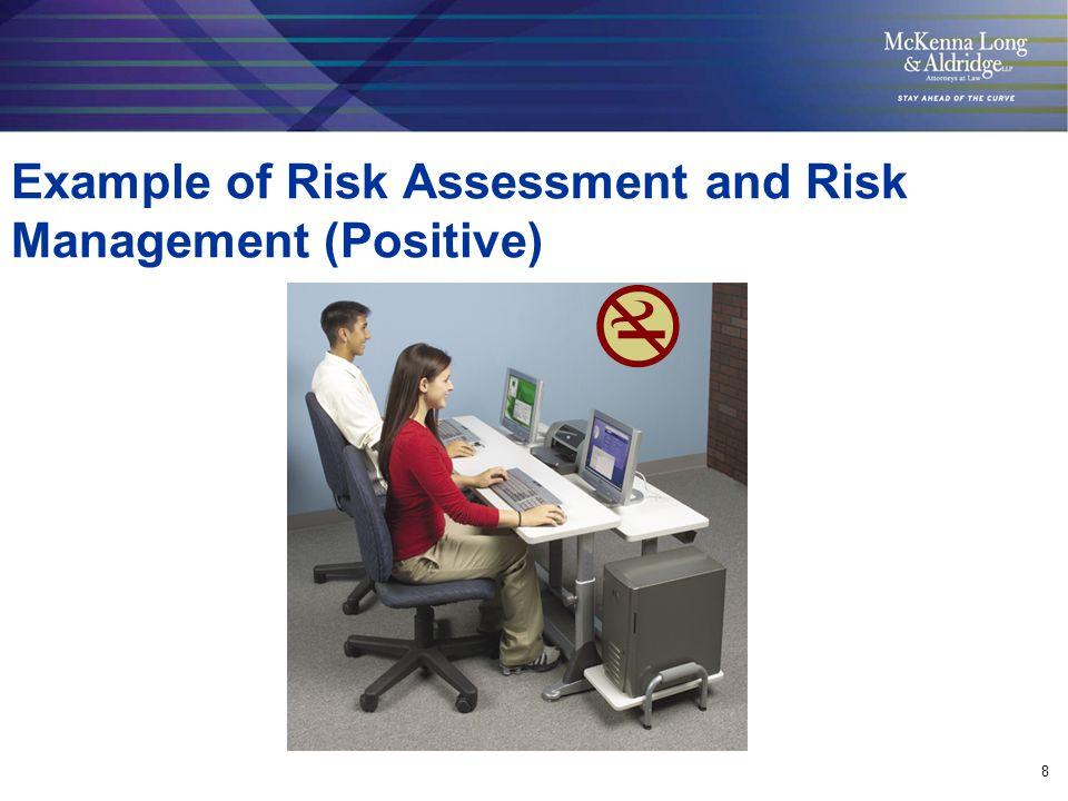 8 Example of Risk Assessment and Risk Management (Positive)