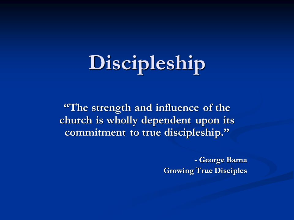 Discipleship Training COST? ONLY $15 PER COURSE $30 for 2-4 years of Discipleship Training!