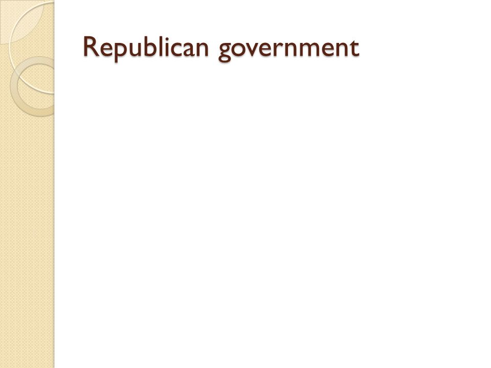 How did the colonists teach the values of republican government.