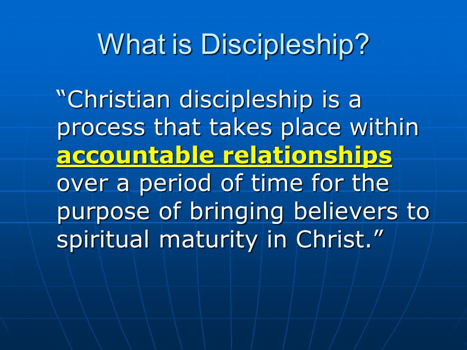Following Jesus Training Is about developing disciples who will lead our churches into the future