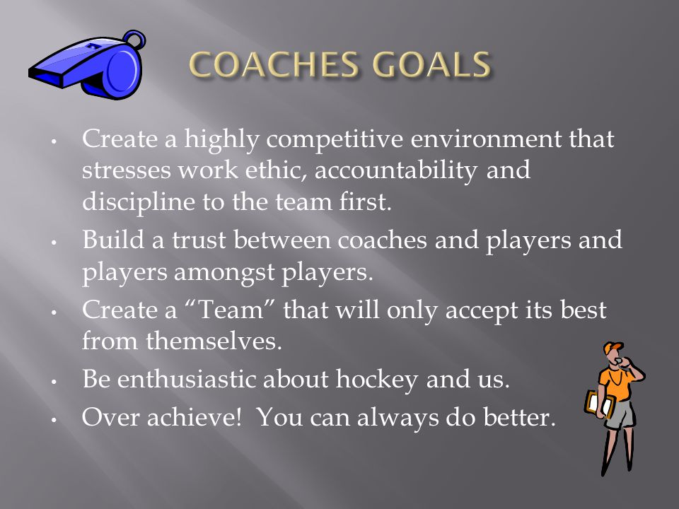 Put the teams' goals, welfare, and success before your own.