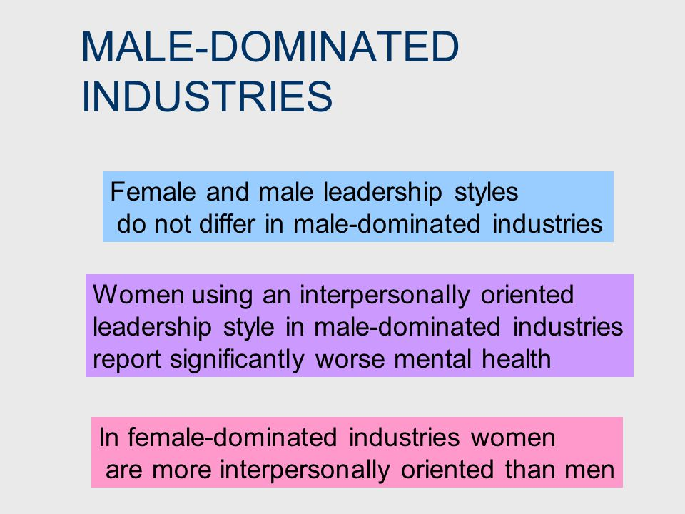 LEADER EFFECTIVENESS Slight tendency to evaluate females more negatively than males, particularly women using masculine leadership styles Men have greater freedom than women to lead in a range of styles without encountering negative reactions
