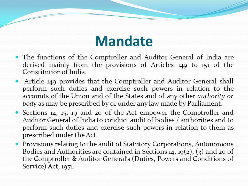 Section 19 of DPC Deals with the audit of Government companies and corporations.