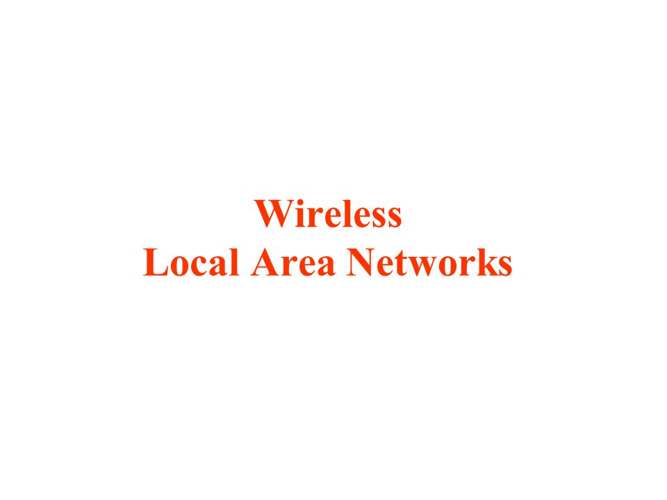 The proliferation of laptop computers and other mobile devices (PDAs and cell phones) created an obvious application level demand for wireless local area networking.