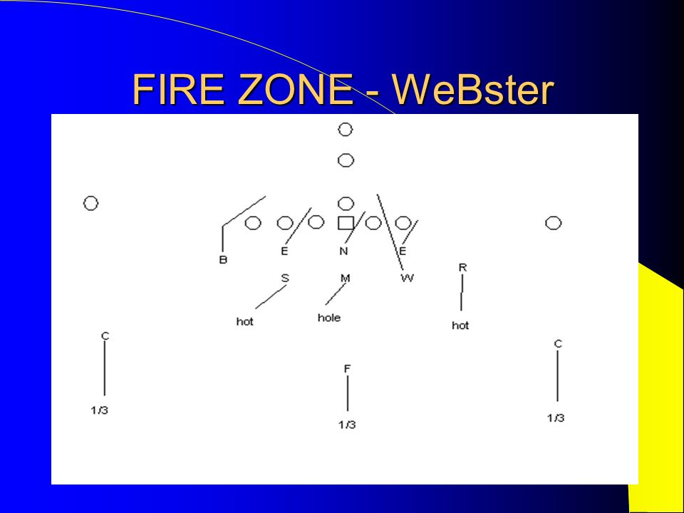 FIRE ZONE - WeBster
