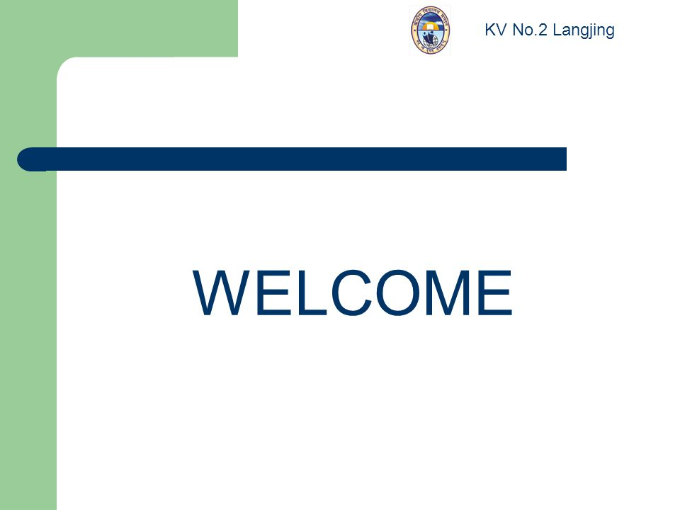 WELCOME KV No.2 Langjing