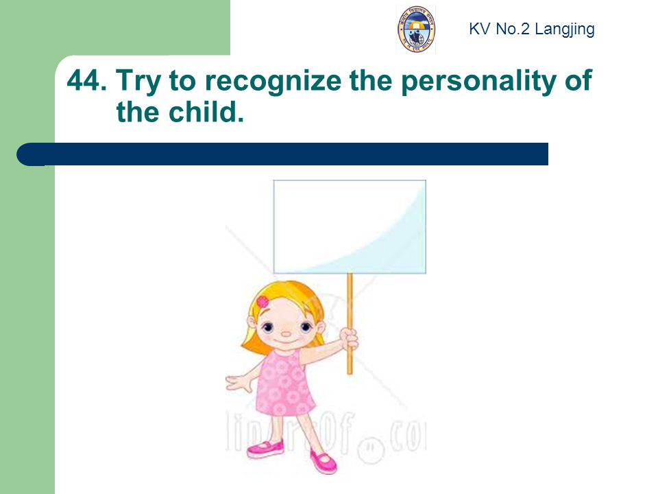 44. Try to recognize the personality of the child. KV No.2 Langjing