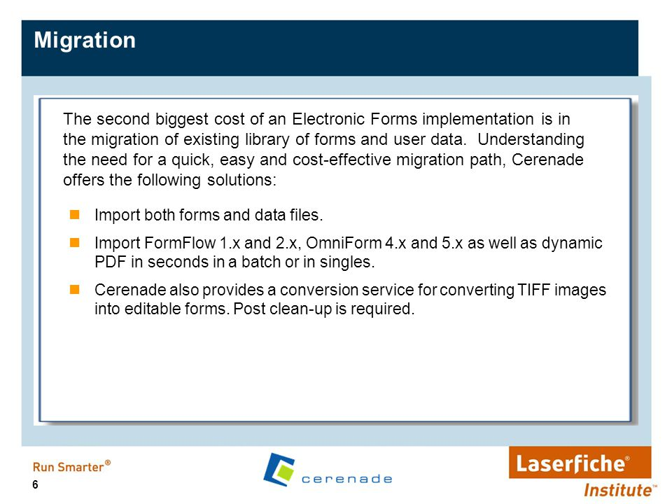 17 Cerenade Enterprise Server – ZERO Client Filler Field in focus is clearly marked on the screen.