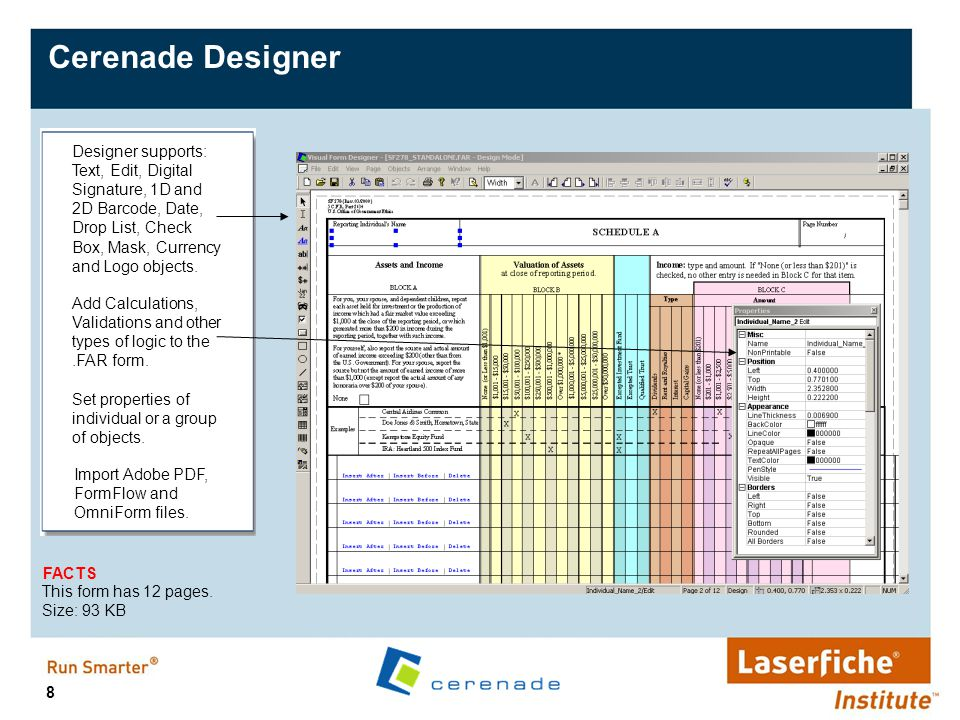 29 Deployment at Manitoba Hydro Gas and Electric 5,000 users 1,200 e-forms 1 location 3 form designers 1 Server Narrative: Manitoba Hydro, a public/private Utilities Company in Canada, searched, studied and evaluated forms solutions in the market for over 2 years.