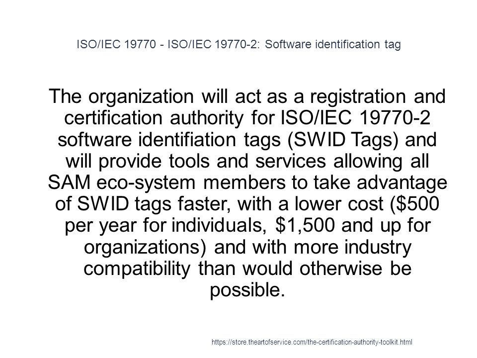 X.509 - Certification authority 1 A certification authority (CA) is an entity which issues digital certificates for use by other parties.