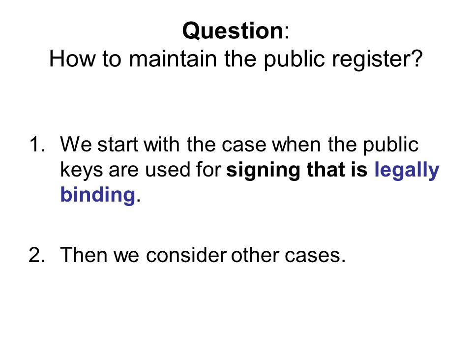 But pk is not my public key.