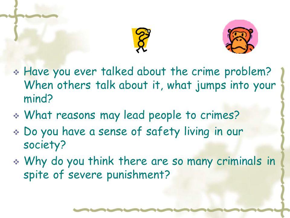Criminals God?? NO!!