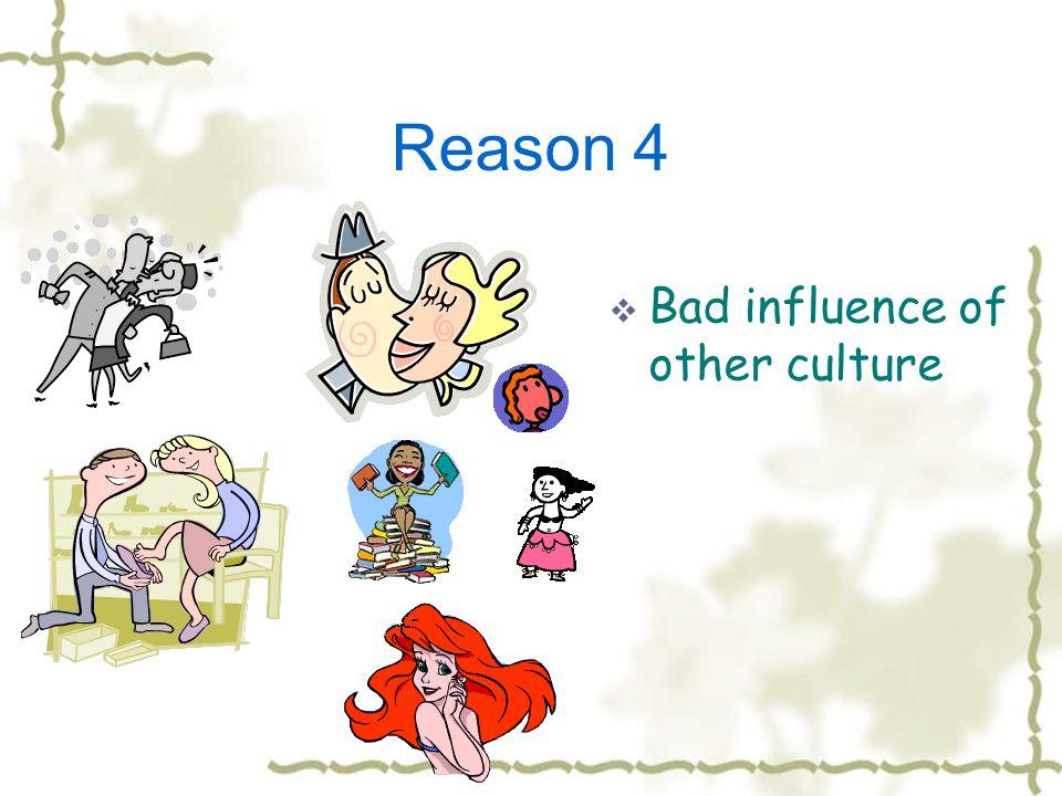 Reason 3 CCorruption The lack of moral control