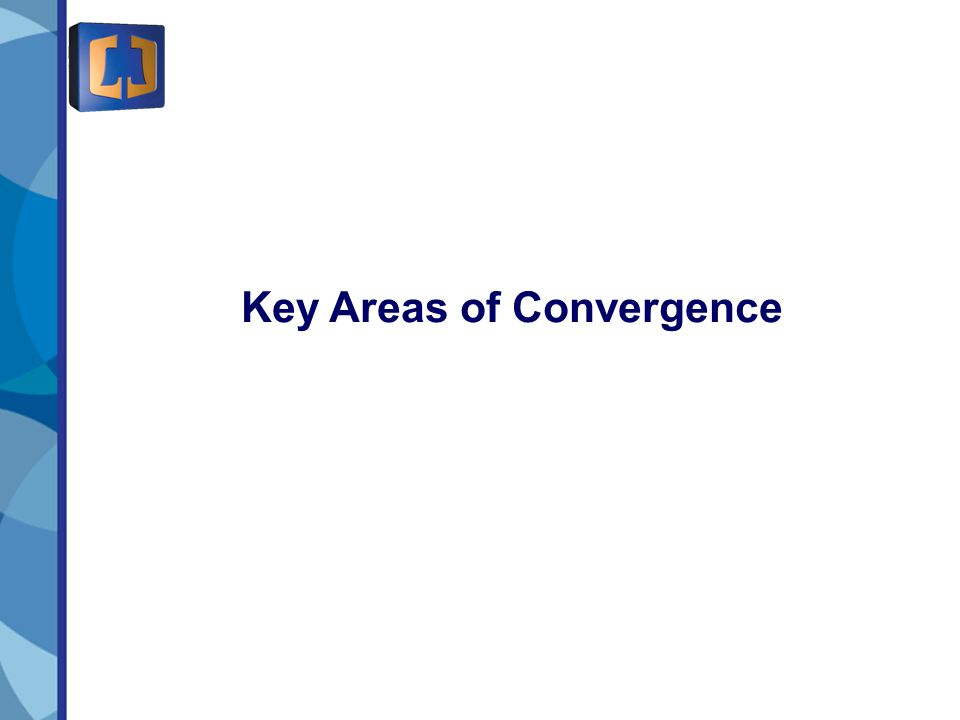 7 Key Areas of Convergence
