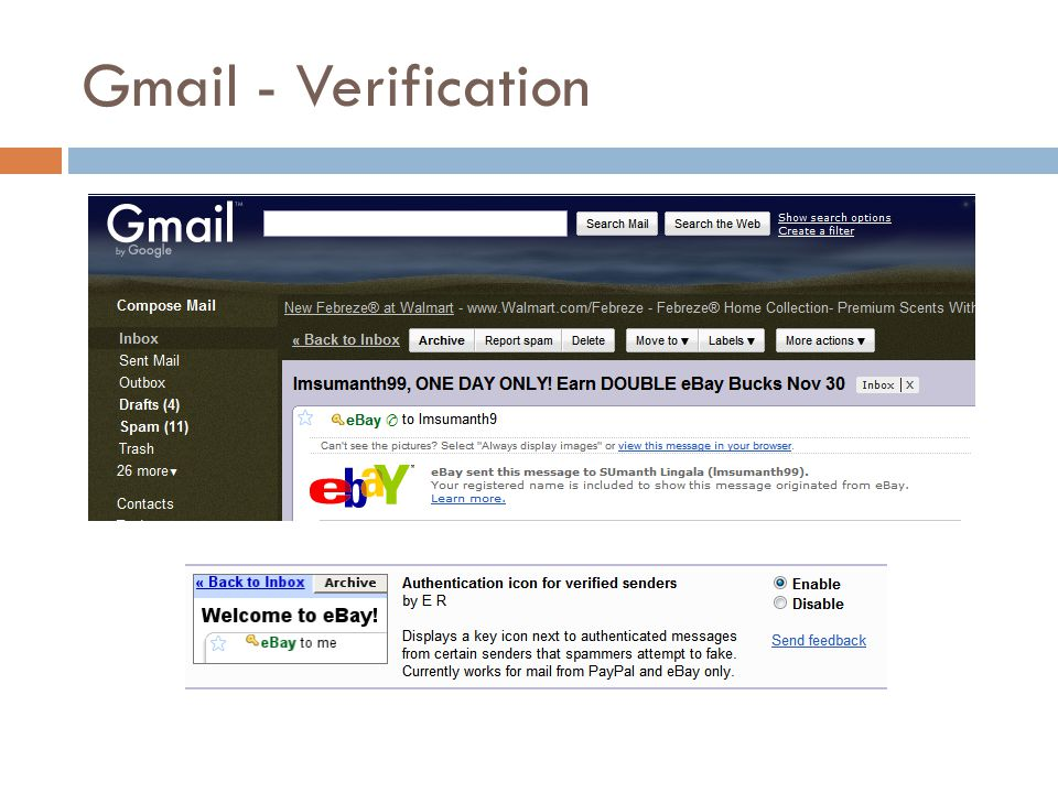 Gmail - Verification