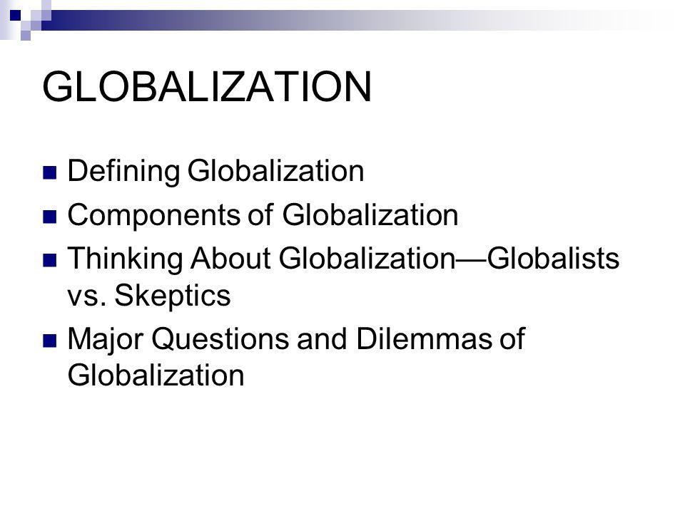 Is economic globalization good.