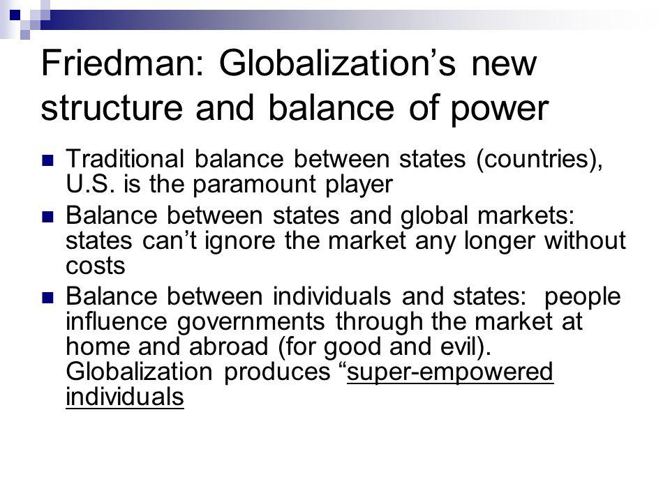 Important Conclusions from Friedman's argument 1.Rewards.