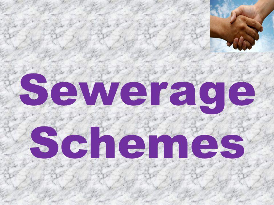 Sewerage Schemes
