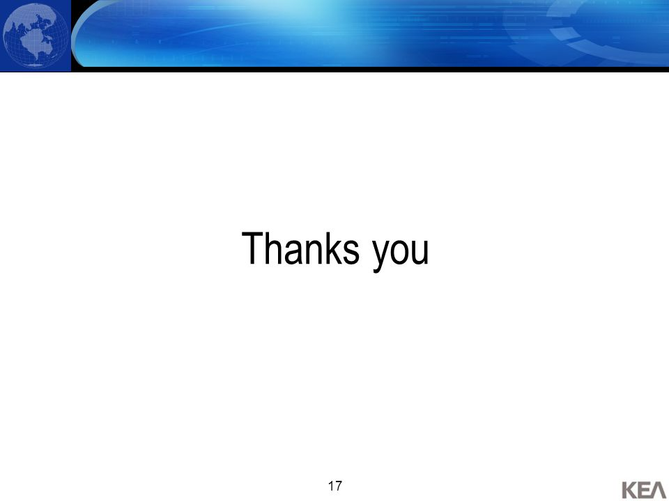 17 Thanks you