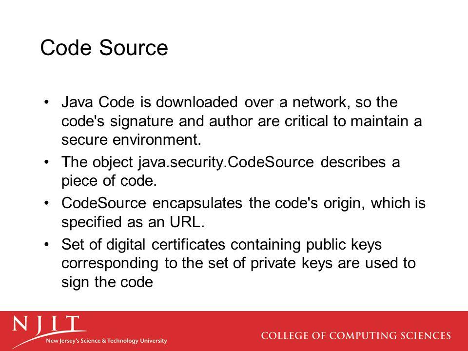 Core Security java.security.