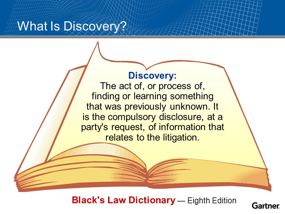 What Is Discovery.