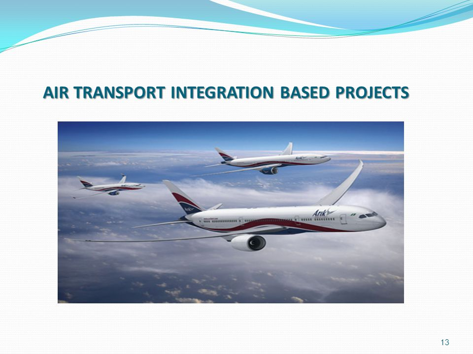 AIR TRANSPORT INTEGRATION BASED PROJECTS 13