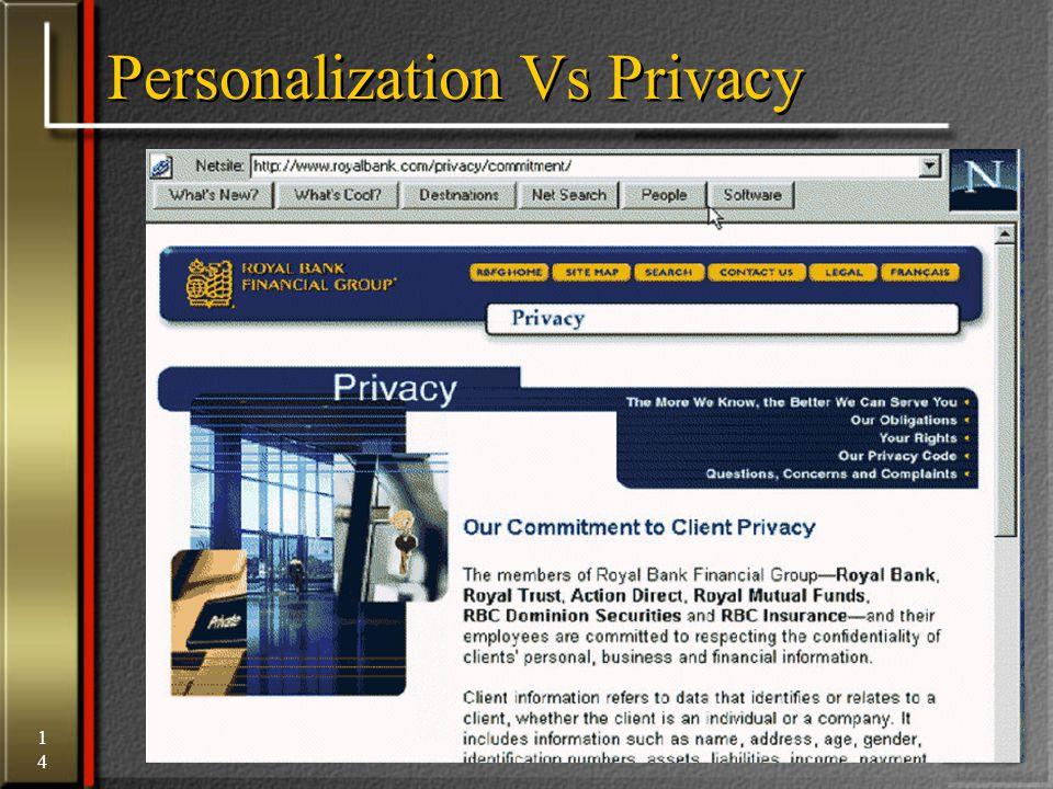 14 Personalization Vs Privacy