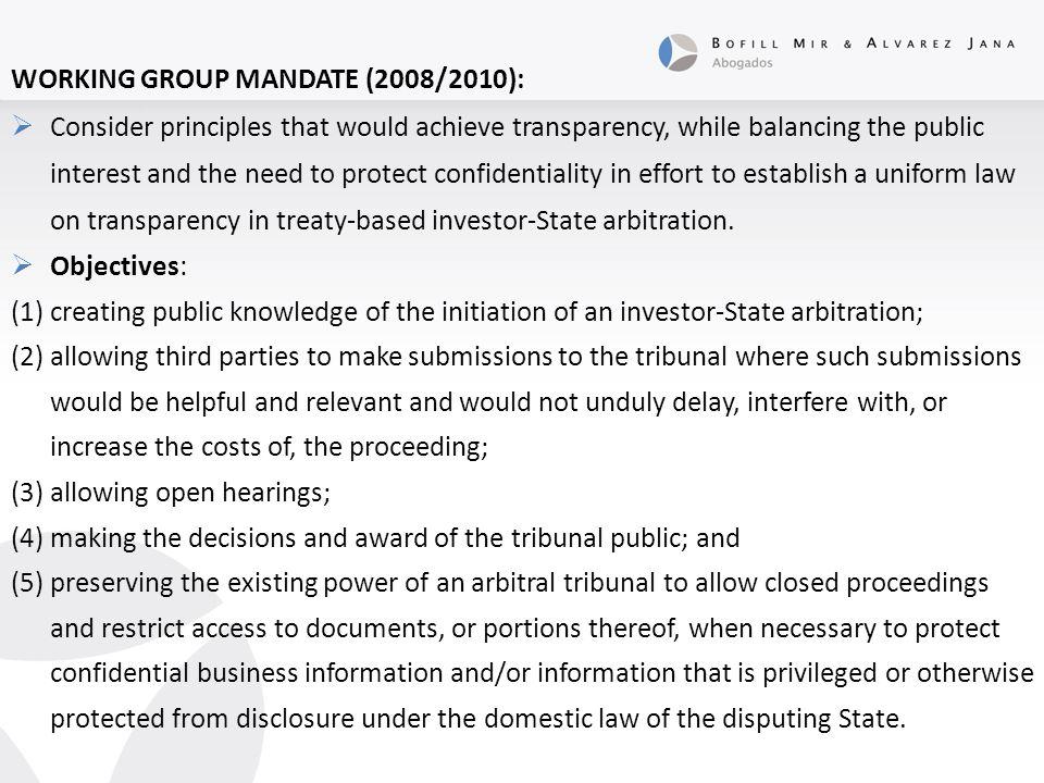 PREVIOUS CASE LAW:  Metalclad Corp.v.