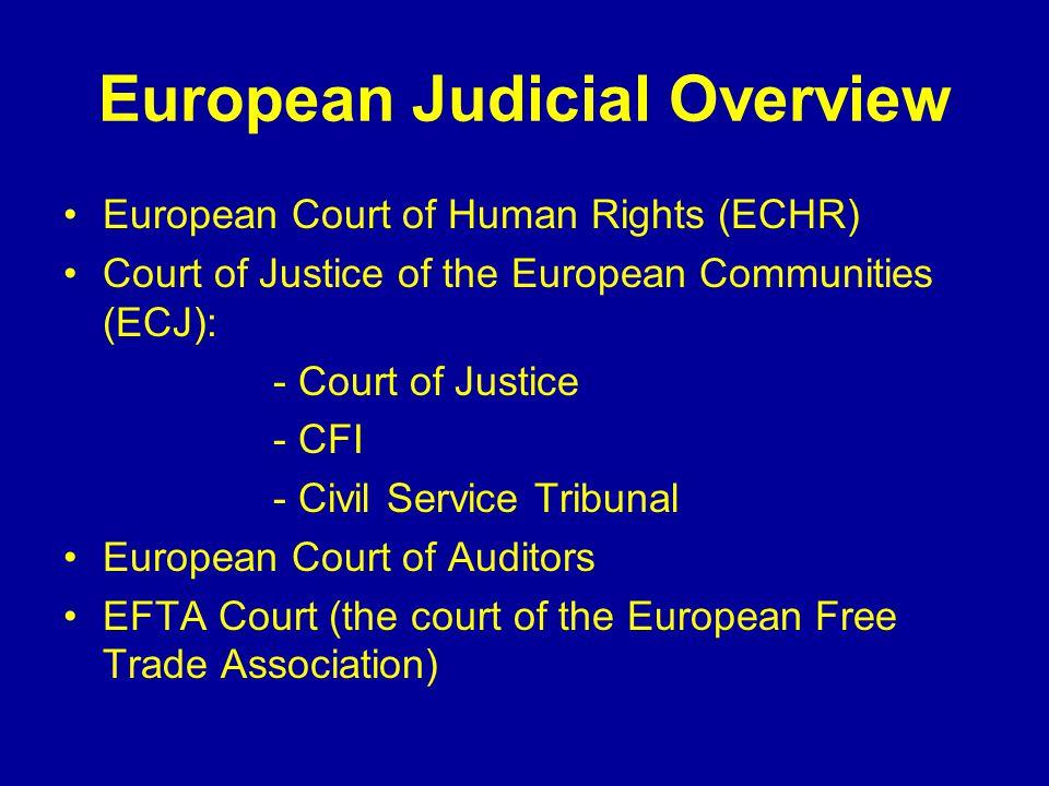 European Court System Ljiljana Biukovic Faculty of Law, UBC Fall 2007