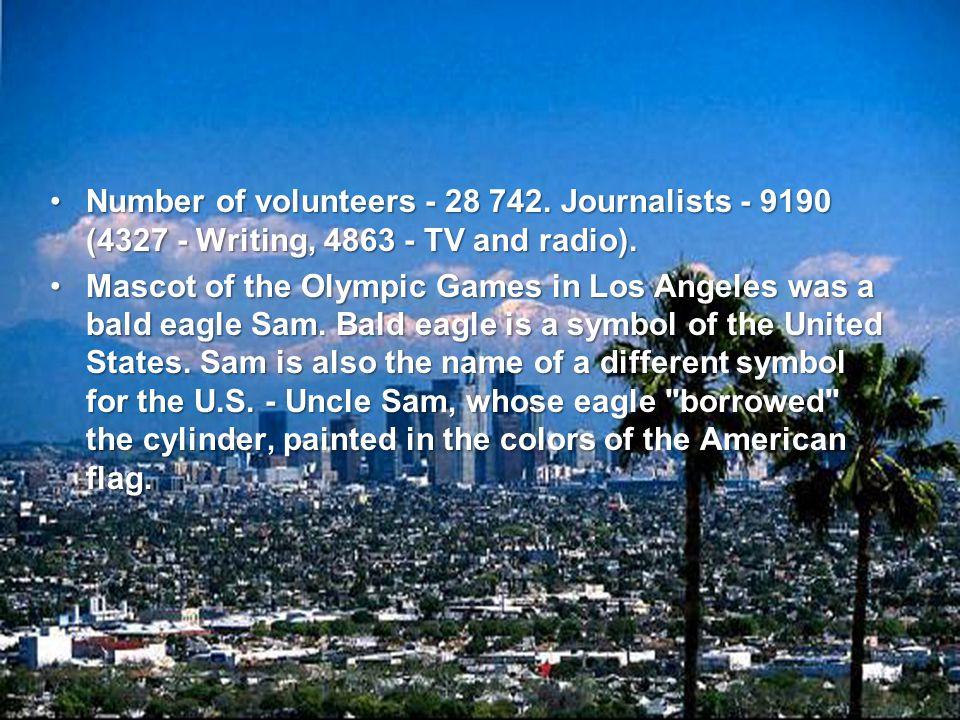 Number of volunteers - 28 742.
