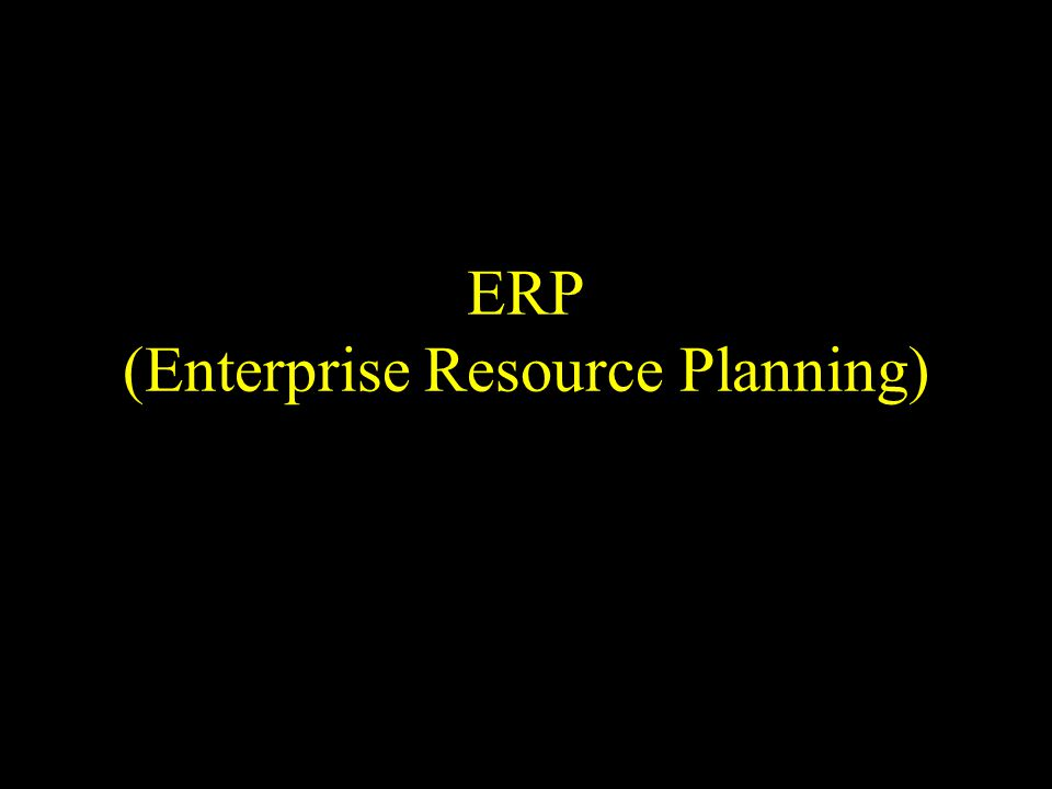 Implementation phase (cont) Build interfaces to other systems & data conversion Test and rectify errors Train end-users Roll out and switching to productive operations Rethinking ERP-Outsourcing Decisions…