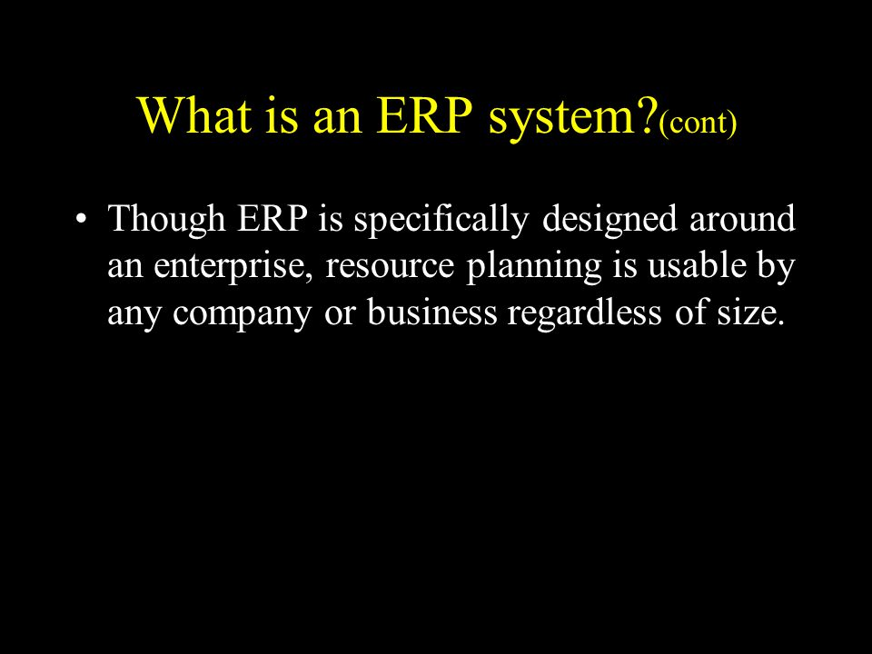 What is ERP outsourcing.