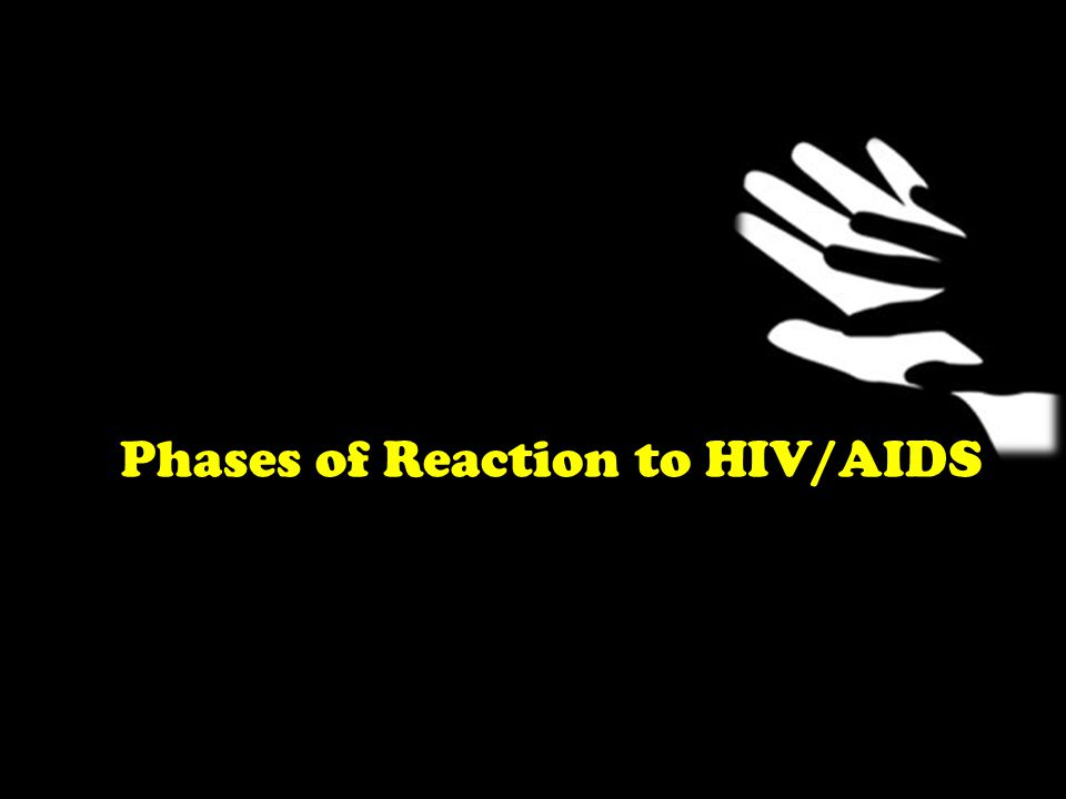 Phases of Reaction to HIV/AIDS