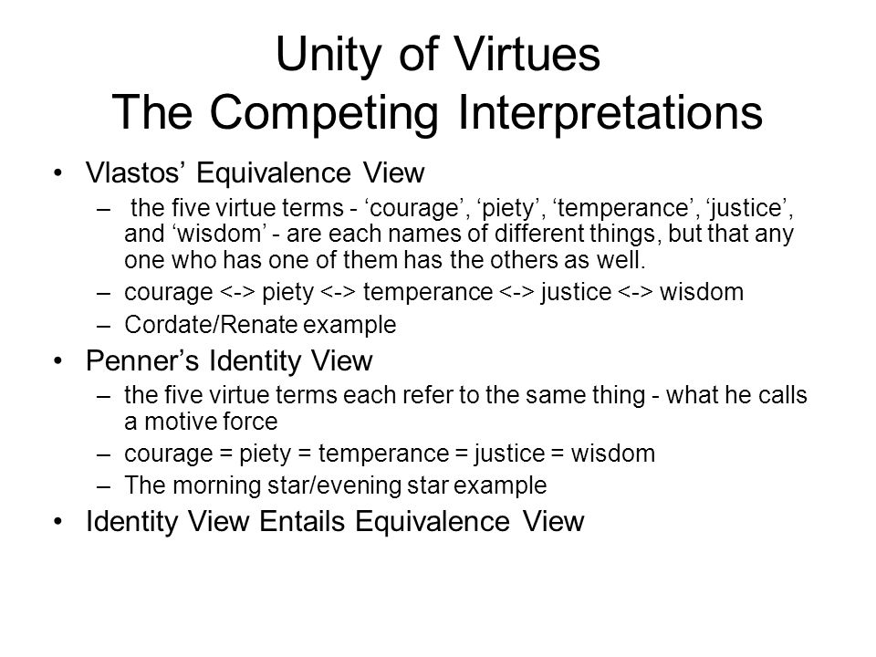 VIII. Paradoxical Conclusion A.Socrates: virtue is knowledge but cannot be taught B.Protagoras: virtue can be taught but is not knowledge