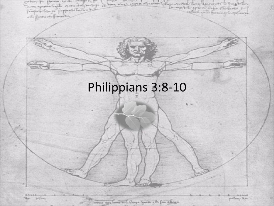 Philippians 3:8-10