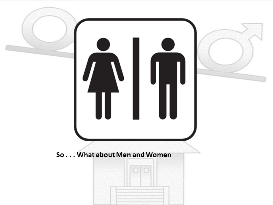 So... What about Men and Women