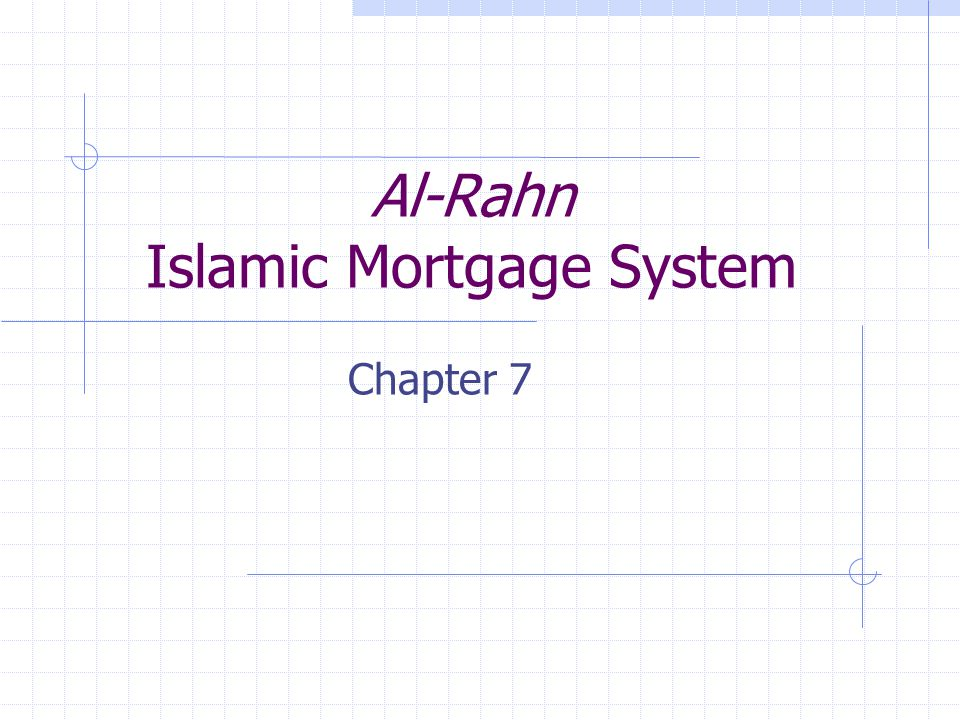 Content 1.1 Introduction 1.2 Background of mortgage in Malaysia 1.3 The concepts of al-Rahn 1.4 The Operation of al-Rahn in Malaysia 1.5 The difference between al-Rahn and mortgage 1.6 Conclusion