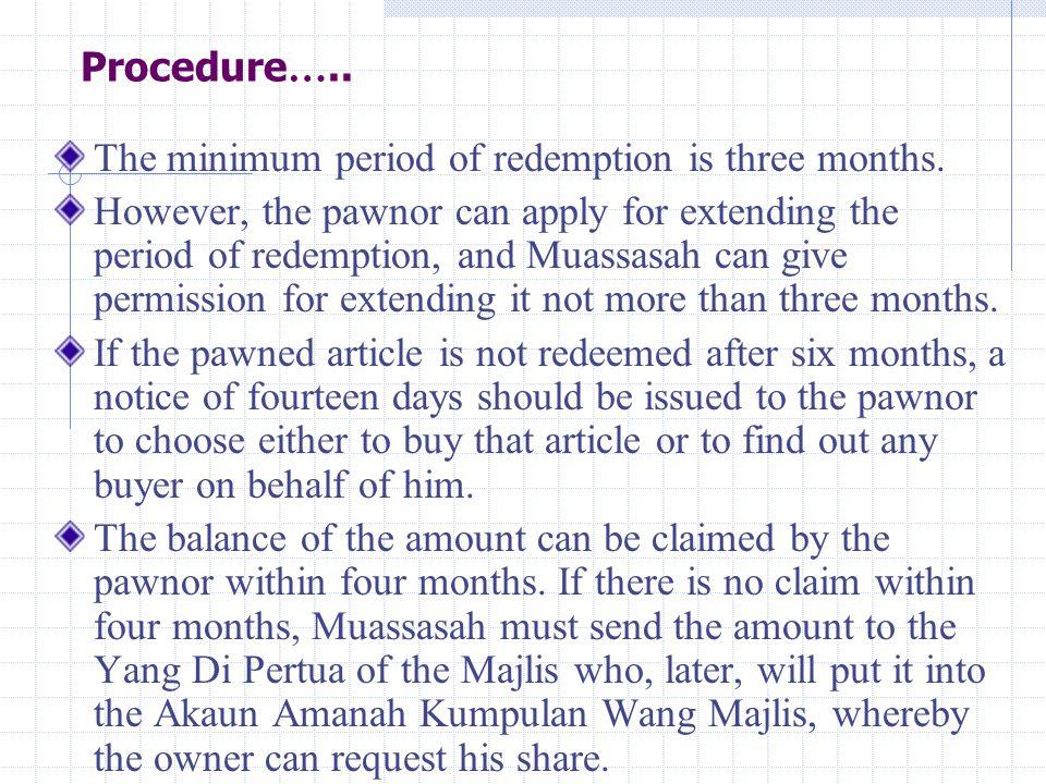 Operation of Kedai Rahn, Kelantan Al-Rahn in Kelantan is set up in March 12, 1993.