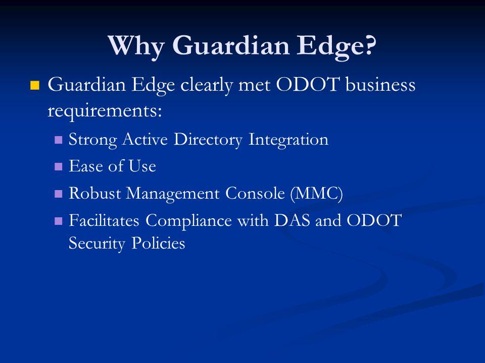 Why Guardian Edge.