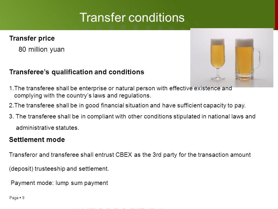 Page  10 Transfer process I.