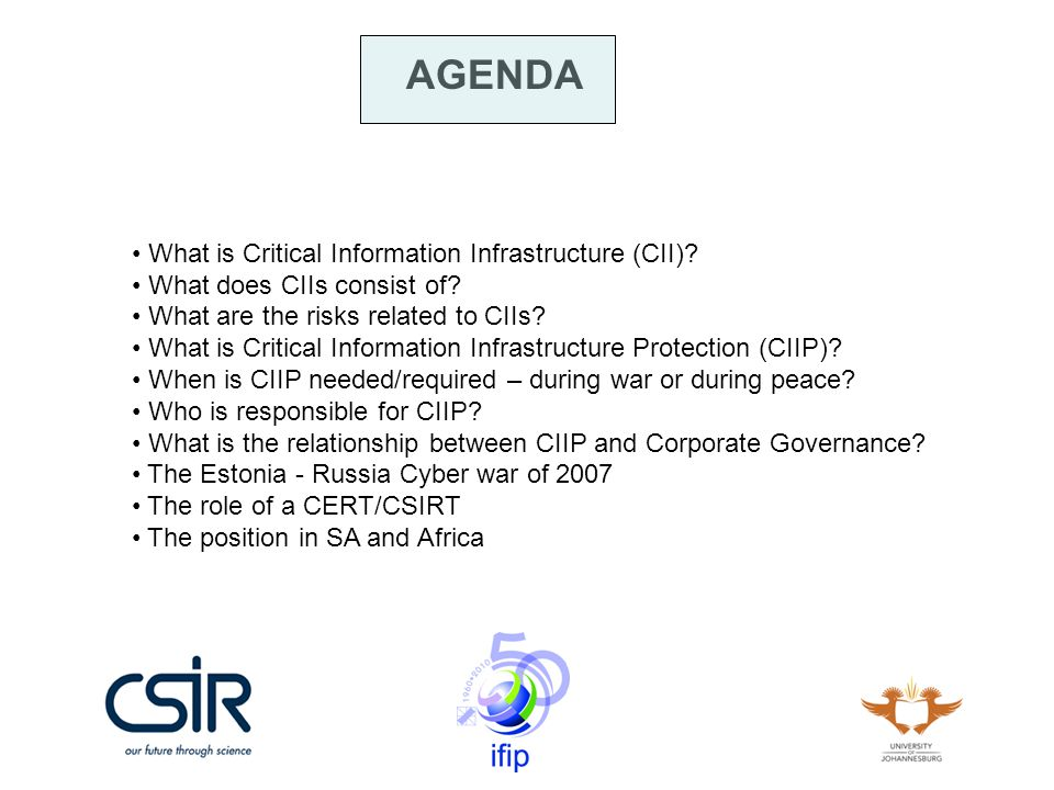 What is Critical Information Infrastructure (CII).