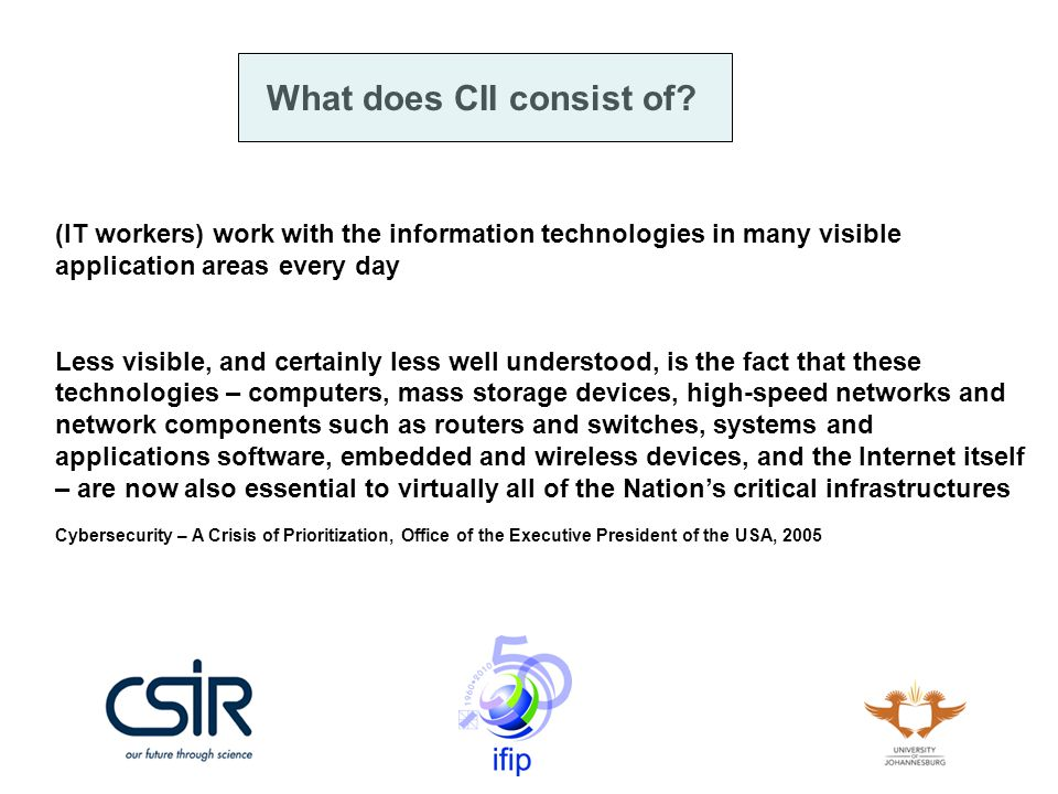 CSIRTs in Africa Why am I here: I (on behalf of the international Cyber Security Incident Response Teams community) want National point of contact CSIRT at each of the African countries to be the focal point for the incident response coordination.