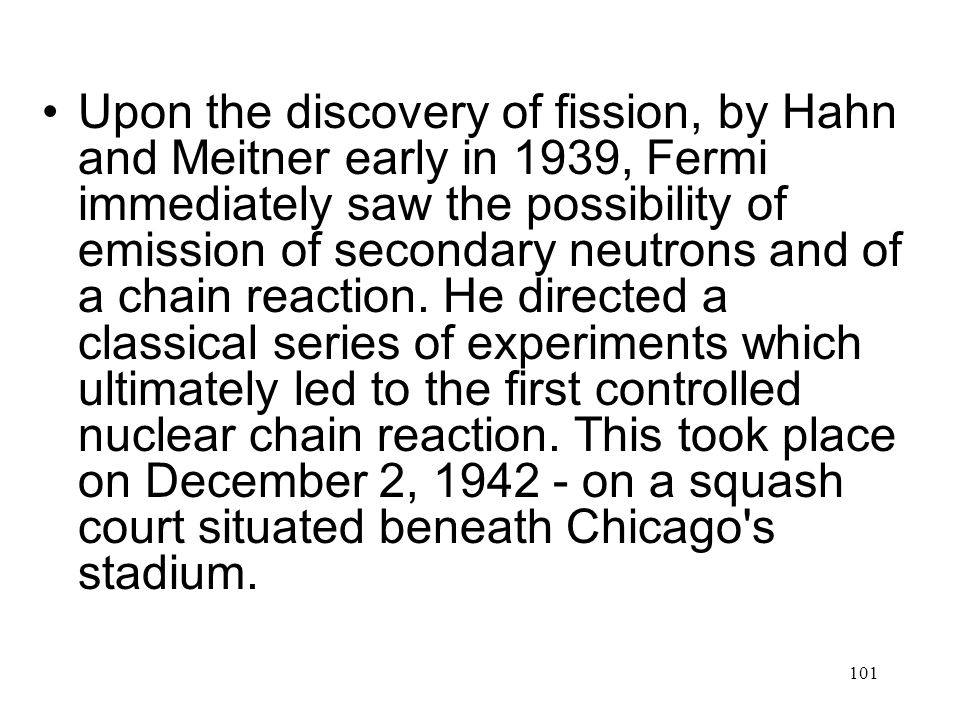 Depiction of the setting in the squash court beneath the stands at the University of Chicago's Stagg Field, where Fermi constructed the first nuclear reactor.