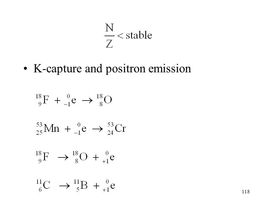 117 neutron and β emission