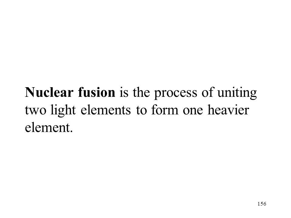 155 Nuclear Fusion